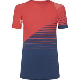 La Sportiva Escape Camiseta Mujer, rojo/azul